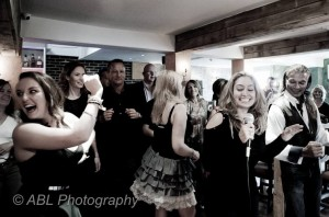 Fun taster dance lesson at Nepal fundraiser in Panchangas
