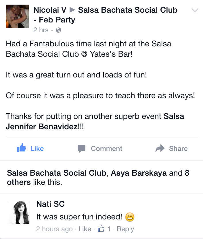 testimonial-salsa-bachata party